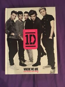 Livre One Direction / One direction book (where we are)