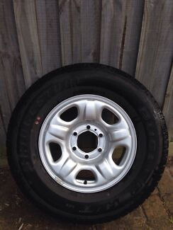 Colorado 16 inch Steel wheels $900 ONO Ormond Glen Eira Area Preview