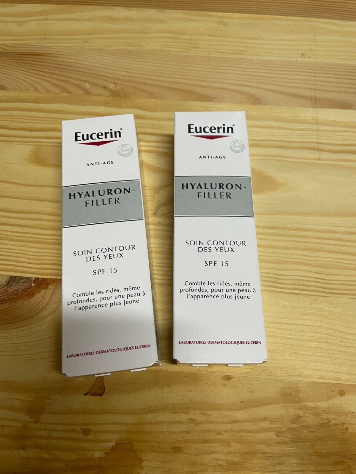 [NEUOVP] Eucerin Anti-age Hyaluron-Filler Augenpflege SPF15 15ml (2 pcs)