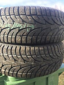p235/55/18 inch Winter Tires / LOTS OF TREAD / GOOD DEAL