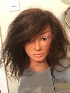 Mannequin head for practice