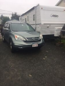 Looking to trade my 2011 crv for a truck