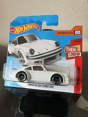 Hot Wheels 2018 Porsche 934 Turbo RSR *44/365 HW Then & Now *2/10 FJX89 White