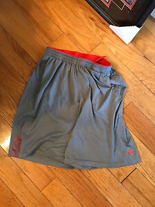 Large youth adidas shorts.