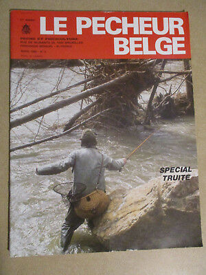 LE PECHEUR BELGE: N°2: MARS 1986: PECHE ET PISCICULTURE - SPECIAL TRUITE