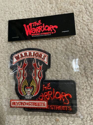 NEW! The Warriors Beyond The Streets (2-PATCH-Set!) NYC 2019 patch