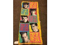 "New Kids on the Block Wall Decal BLACK Vinyl Donnie Wahlberg Jordan NKOTB 23/"""