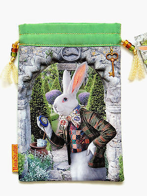 "Alice ""The White Rabbit"", Limited Edition Tarot Bag - Baba Studio"