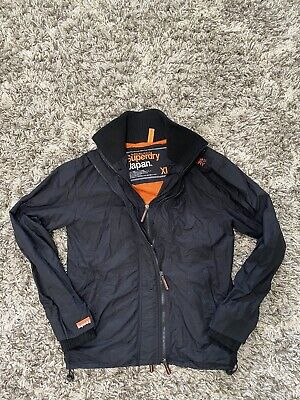 "Men's Superdry Japan Professional ""THE WINDCHEATER"" 3-Zip Jacket Size XL"
