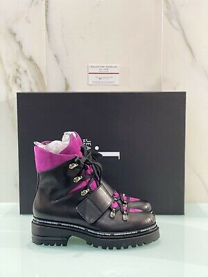 Jeannot Amphibious Woman Pebra Black Lightweight Boot Leather Made in Italy 37