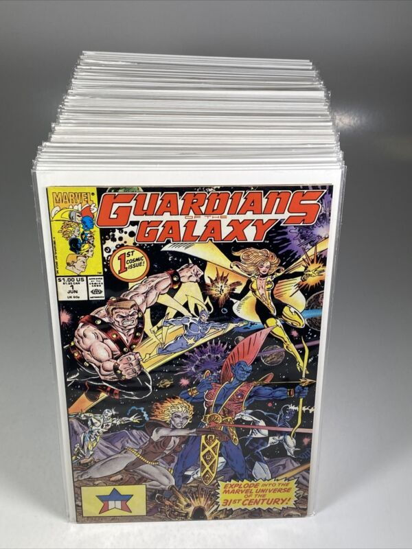 Guardians of the Galaxy #1-62 + Annuals 1-4 (Marvel comics 1990) Complete Series