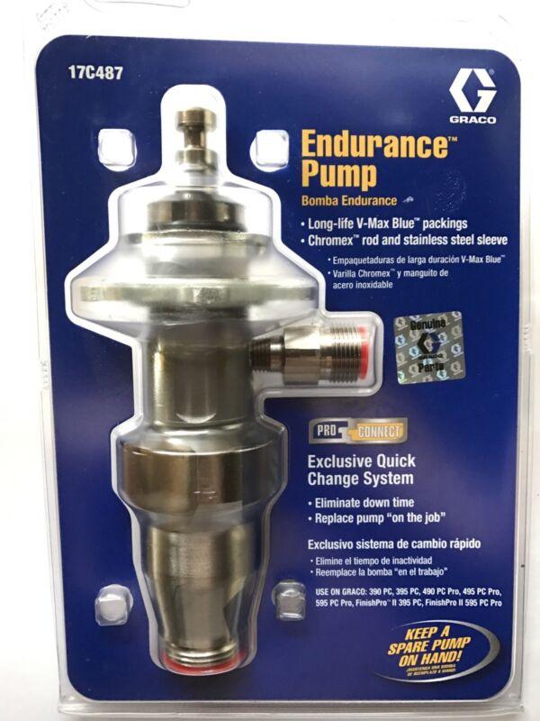 Genuine Graco 17C487 pump lower, Ultra/Ultramax PC 390/395/490/495/595,