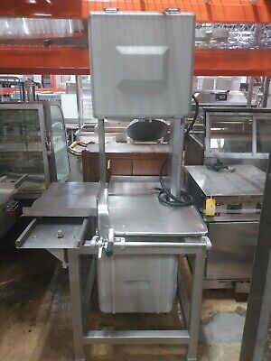 Refurbished Hobart 5701d Commercial Meat Saw 3 Ph 3 Hp 200-230v