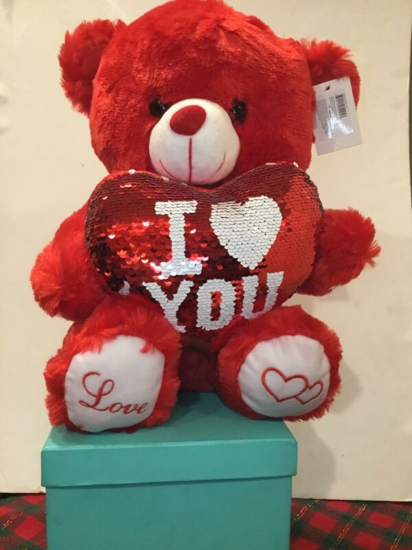 Red I Love You Teddy Bear