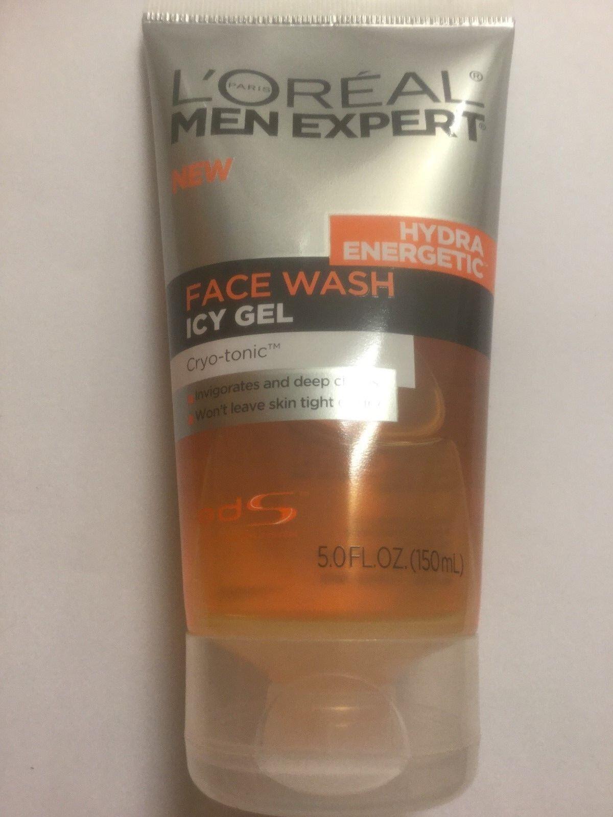 L'Oreal Hydra Energetic Face Wash Icy Gel Cryo-tonic, 5 Fl