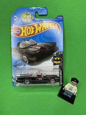 Hot Wheels 2020 TV Series '66 Batmobile Batman New Hub Wheels Rare HTF New Car