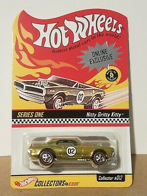 Hot Wheels Red Line Club RLC Online Exclusive Series One Nitty Gritty Kitty