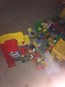 Massive little people fisher price bundle