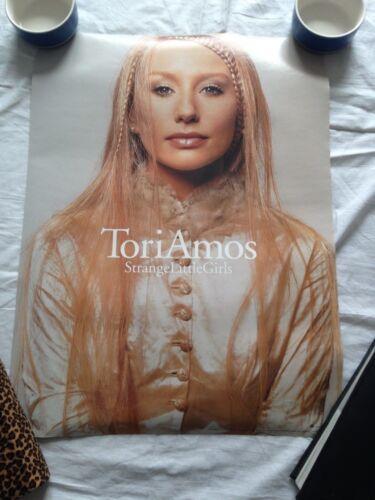 Tori Amos Promotional Poster Strange Little Girls Double Sided NEW X2