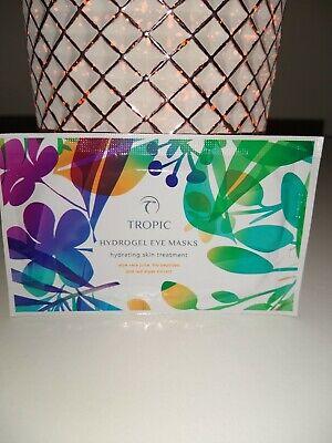 Tropic Skincare Hydrogel Eye Mask hydrating skin treatment Natural Vegan Tropics