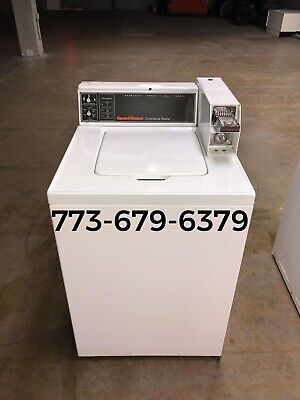 Speed Queen Commercial Top Load Washer 18lb Coin Operated 2013
