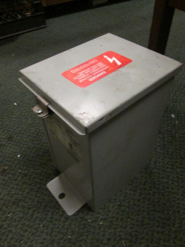 ABB Capacitor C484R5 5KVAR 480VAC 3Ph 60Hz Used