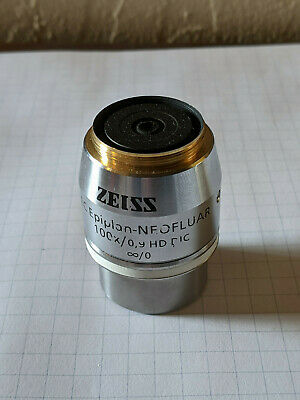 Zeiss Ec Epiplan-neofluar 100x 0.90 Hd Dic M27 Microscope Objective