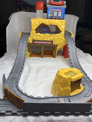 Thomas & Friends Take n Play Sodor Mining Co. Rumbling Gold Mine Train Set WORKS
