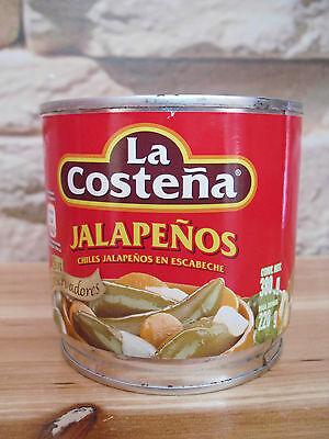 12 x 380 gr Peperoni piccanti jalapeno interi in salamoia La Costena Tex - Mex