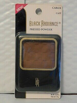 Black Radiance Pressed Powder Oil Free Matte Finish # 8614 Cafe