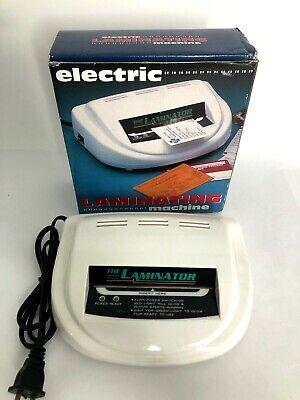 The Laminator  Electric Laminating Machine TL-110, Mini Laminating Machine