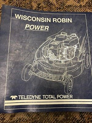 Wisconsin Robin Engine Repair Parts Manuals See Pictures For All The Models