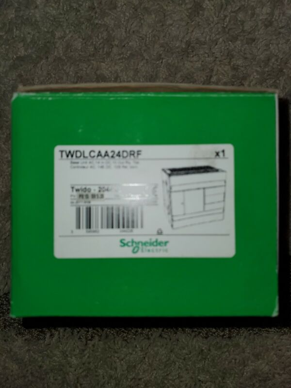 New Schneider Electric TWDLCAA24DRF Twido Compact Base Controller 14/10 IO