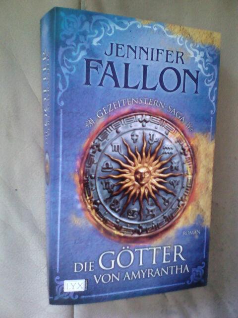 Jennifer Fallon: Die Götter von Amyrantha (Klappenbroschur)