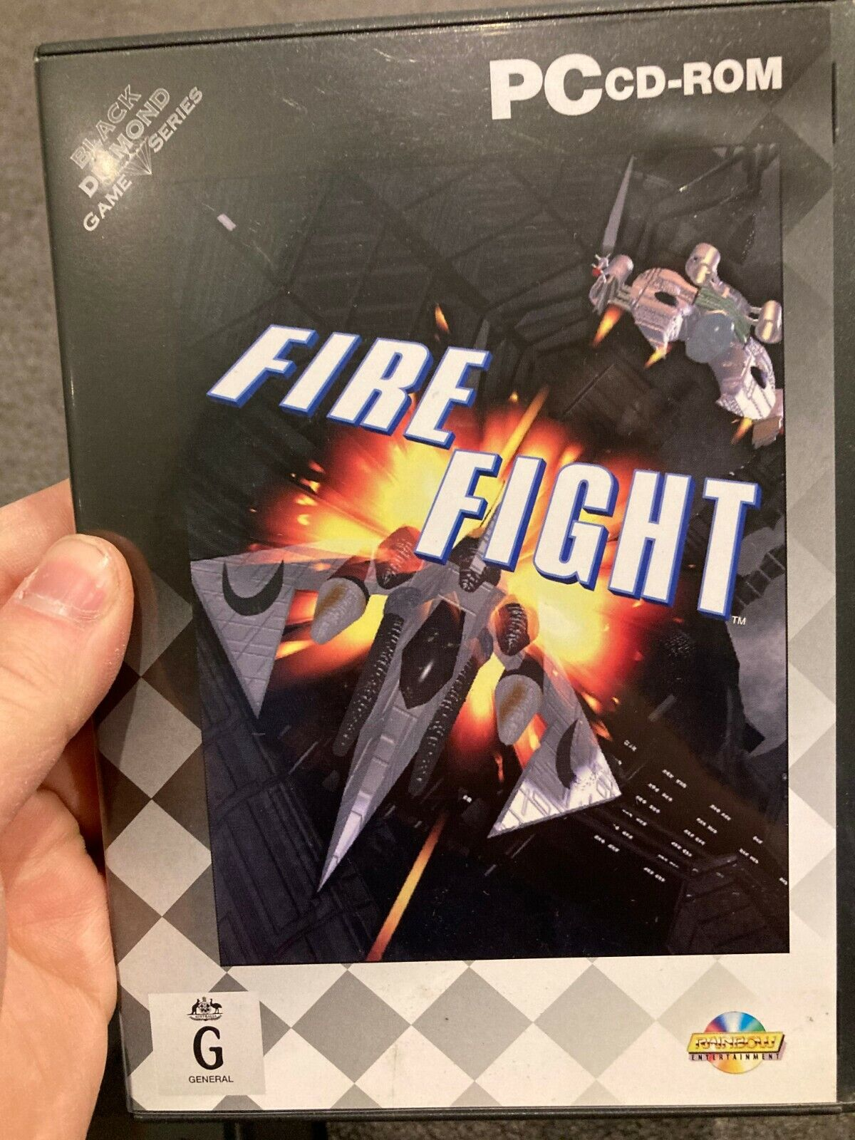 Computer Games - Fire Fight PC CD-ROM computer game