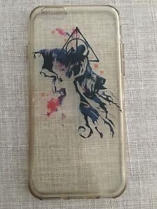 Clear Harry Potter iPhone Case
