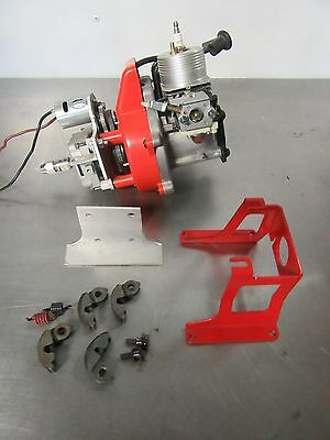RC Gas Boat Engine On Board Starter Water cooled Electric Start Clutches Drive