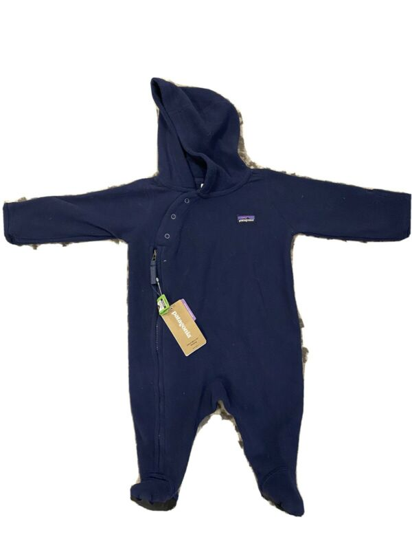 Patagonia Baby/Infant Micro D Fleece Bunting 0-3 Months NEW/NWT