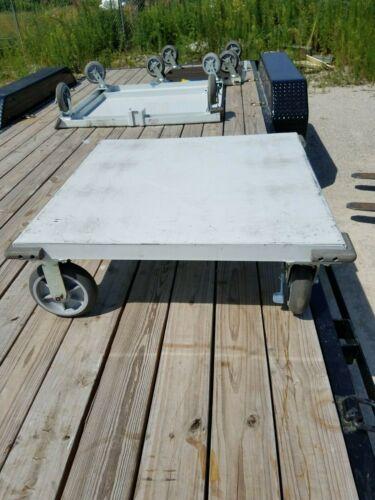 """Ameritek Heavy Duty Steel Dolly Cart - 36"""" x 36"""""""