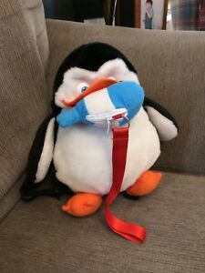 EUC Penguin Backpack with leash option