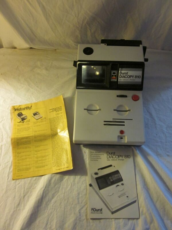 1982 Vintage Durst Diacopy 810 Dia Direct Printer For Kodak Italy