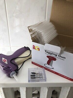 Clothes Garment Price Label Tag Tagging Gun Barbs 3 Needles