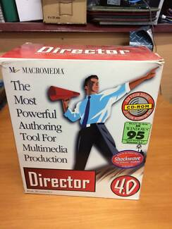 ***Director Multimedia Authoring Software****