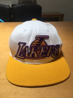 Authentic Vintage Adidas Lakers Snap Back