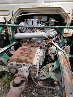 Working diesel truck engine,suit boat too