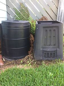 Composting bins x 2 make your own compost Shortland Newcastle Area Preview
