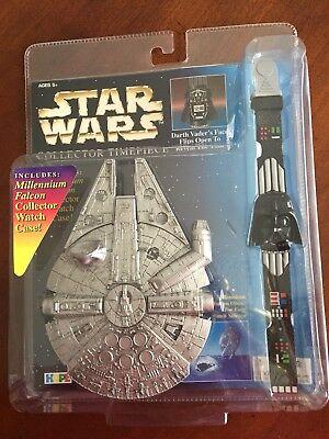 Star Wars DARTH VADER Collector Timepiece w/case 1996 NRFC