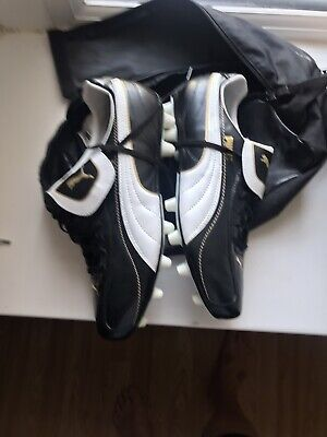 puma king football boots size 9