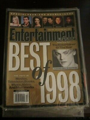 Entertainment Weekly Magazine December 1998 Leonardo DiCaprio Best of No
