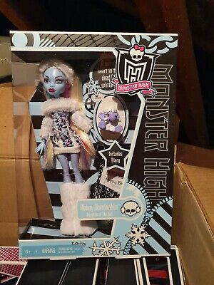 MONSTER HIGH Abbey Bominable Doll 1st Wave Series1 Diary Daughter of Yeti...